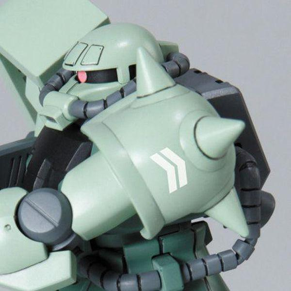 Bandai 1/144 HGUC MS-06F-2 Zaku F2 ZEON close up lh shoulder
