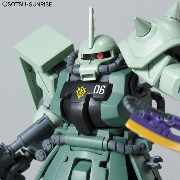 Bandai 1/144 HGUC MS-06F-2 Zaku F2 ZEON close up chest