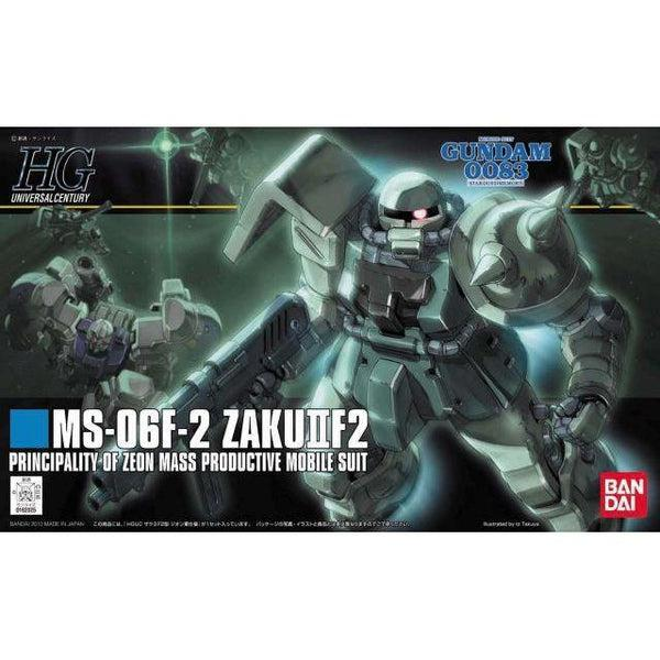 Bandai 1/144 HGUC MS-06F-2 Zaku F2 ZEON package art