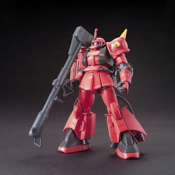 Bandai 1/144 HGUC - MS-06R-2 ZAKU II - J.Ridden's Customize Mobile Suit front on pose