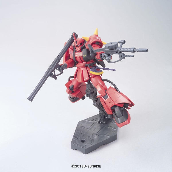 Bandai 1/144 HGUC - MS-06R-2 ZAKU II - J.Ridden's Customize Mobile Suit with bazooka and machine gun