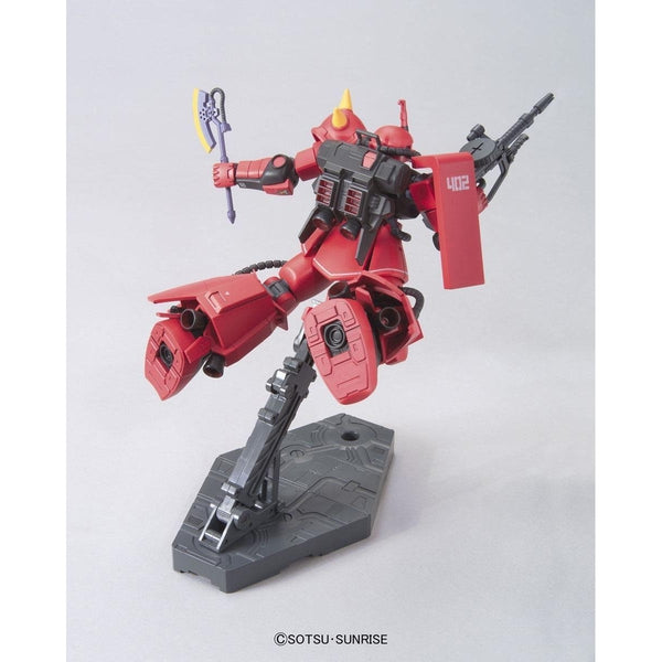 Bandai 1/144 HGUC - MS-06R-2 ZAKU II - J.Ridden's Customize Mobile Suit rear view