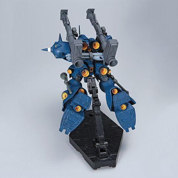 Bandai 1/144 HGUC MS-18E Kampfer flight mode rear view flying