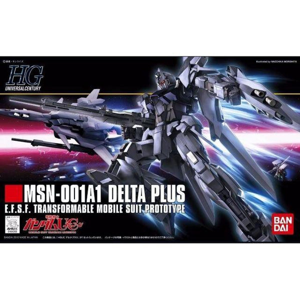 Bandai 1/144 HGUC MSN-001A1 Delta Plus package artwork