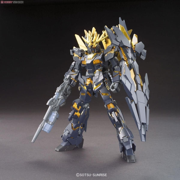Bandai 1/144 HGUC RX-0[N] Unicorn Gundam 02 Banshee Norn (Destroy Mode) front on pose