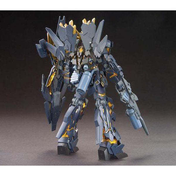 Bandai 1/144 HGUC RX-0[N] Unicorn Gundam 02 Banshee Norn (Destroy Mode) rear view