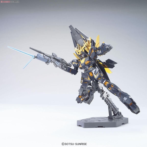 Bandai 1/144 HGUC RX-0[N] Unicorn Gundam 02 Banshee Norn (Destroy Mode) action pose 1