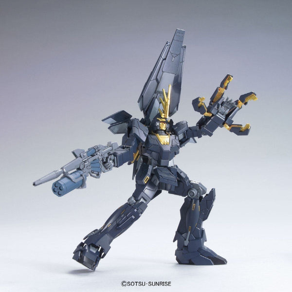 Bandai 1/144 HGUC RX-0[N] Unicorn Gundam 02 Banshee Norn (Unicorn Mode) action pose 2