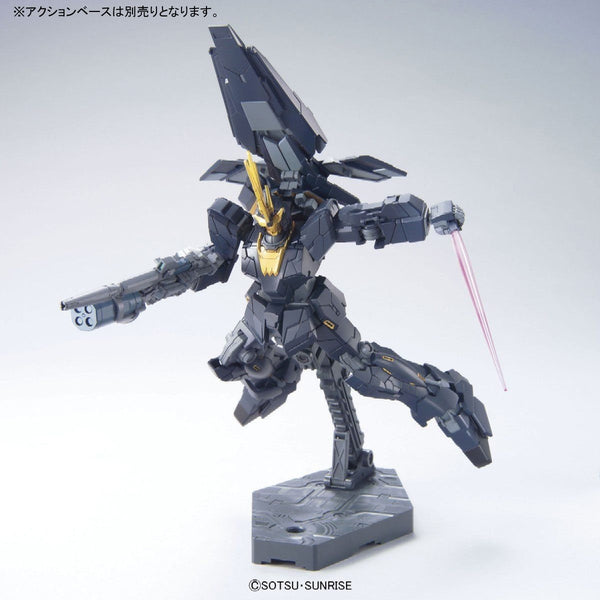 Bandai 1/144 HGUC RX-0[N] Unicorn Gundam 02 Banshee Norn (Unicorn Mode) action pose 3