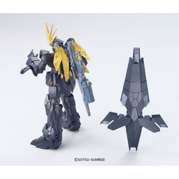 Bandai 1/144 HGUC RX-0[N] Unicorn Gundam 02 Banshee Norn (Unicorn Mode)  Armed Armor DE and Revolving Launcher