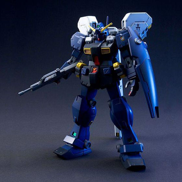 Bandai 1/144 HGUC Hazel Tr-1 Hazel -II front on pose with weapons and thrusters