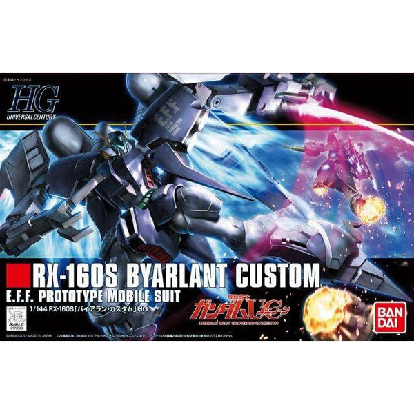 Bandai 1/144 HGUC RX-160S Byarlant Custom package art