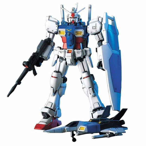 Bandai 1/144 HGUC RX-78GP01 Zephyranthes front on with core fighter