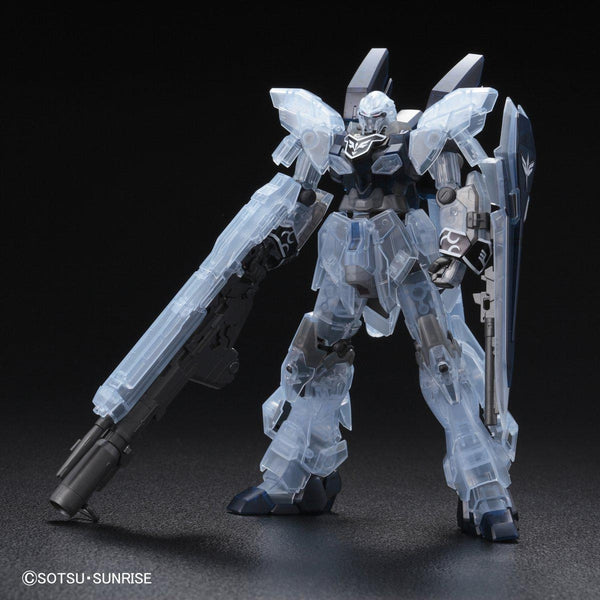 P-Bandai 1/144 HGUC MSN-06S-2 Sinanju Stein [NARRATIVE VER.] [CLEAR COLOR] front on