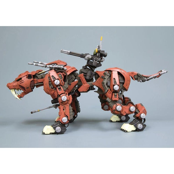 Kotobukiya 1/72 Zoids HMM EZ-016 Saber Tiger Markings Plus Ver. side on lhs