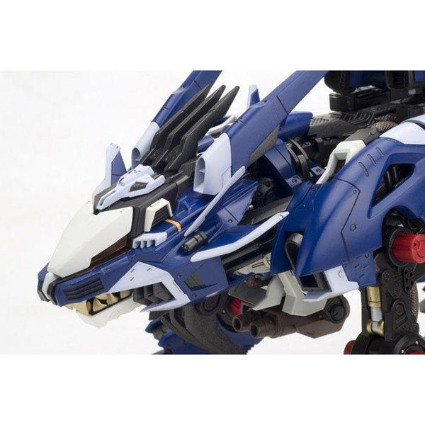 Kotobukiya 1/72 Zoids HMM RZ-041 Liger Zero Jager Markings Plus Ver. head close up