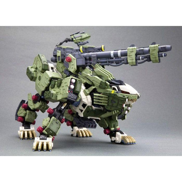 Kotobukiya 1/72 Zoids HMM RZ-041 Liger Zero Panzer Markings Plus Ver guns ready