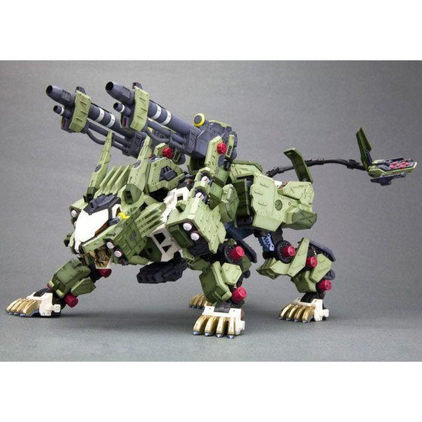 Kotobukiya 1/72 Zoids HMM RZ-041 Liger Zero Panzer Markings Plus Ver action pose 1