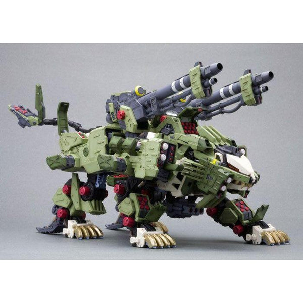 Kotobukiya 1/72 Zoids HMM RZ-041 Liger Zero Panzer Markings Plus Ver action pose 2