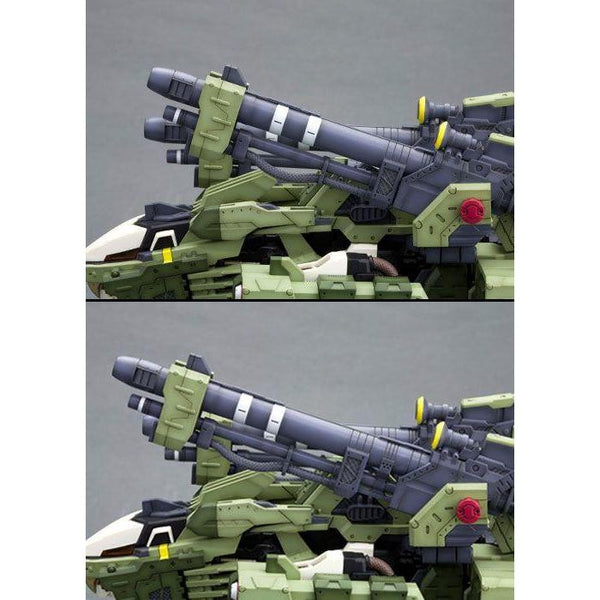 Kotobukiya 1/72 Zoids HMM RZ-041 Liger Zero Panzer Markings Plus Ver main guns different elevations