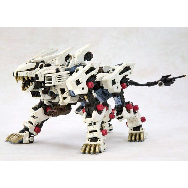 Kotobukiya 1/72 Zoids HMM RZ-041 Liger Zero Markings Plus Ver. slightly side on