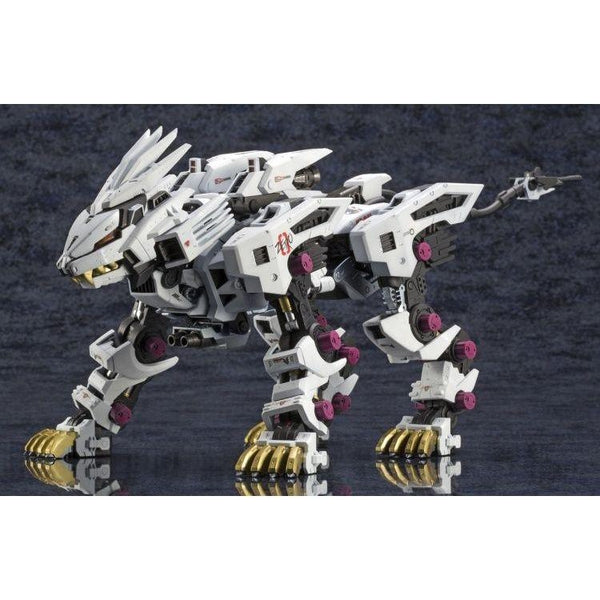Kotobukiya 1/72 Zoids HMM RZ-041 Liger Zero Markings Plus Ver. finished pose
