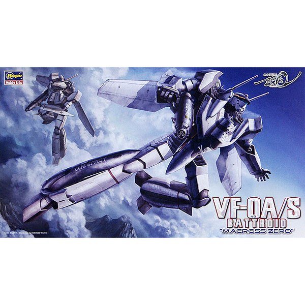 Hasagawa 1/72 VF-0A/S Battroid Macross Zero package artwork
