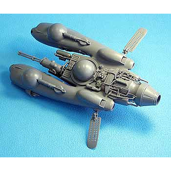 Hasegawa 1/20 Ma.k Pfk.85 Falke (Antigravity Armoured Fighter) unpainted