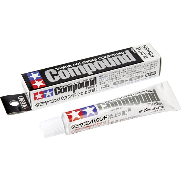 Tamiya Polishing Compound - FINE (Finish)