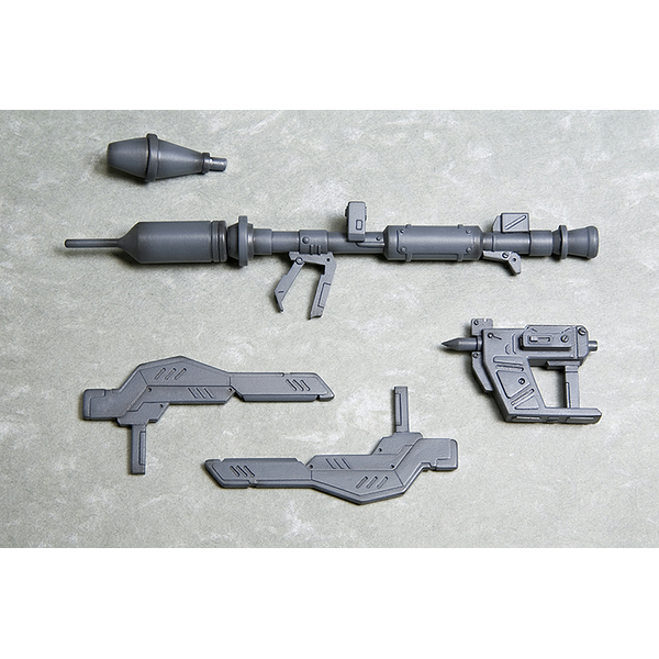 Kotobukiya M.S.G MH012R Heavy Weapon Panzerfaust & Tonfa what's included