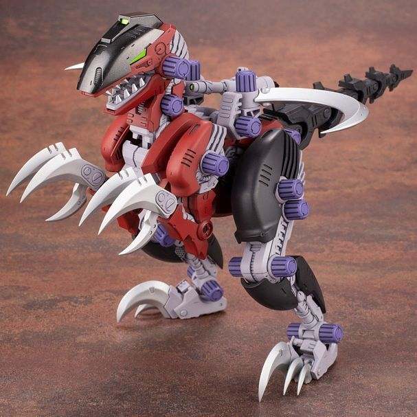 Kotobukiya 1/72 HMM Zoids Rev Raptor dark background