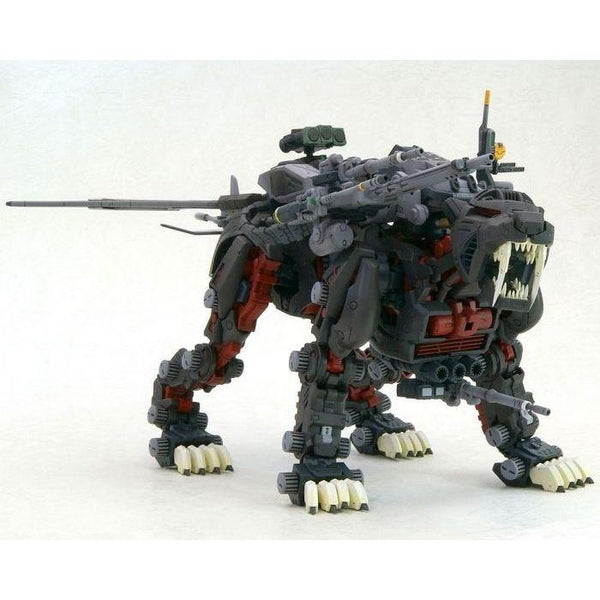 Kotobukiya 1/72 HMM Zoids Great Saber Markings Plus Ver.  front on view. 2