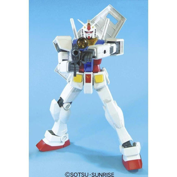 Bandai 1/48 Mega RX-78-2 Gundam front on with beam rifle