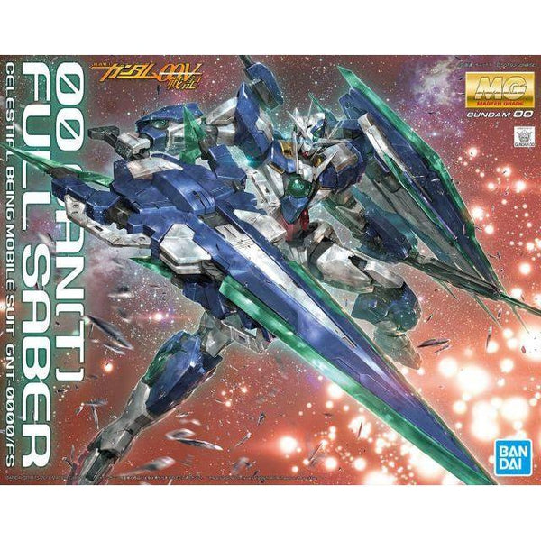 Bandai 1/100 MG 00 Qan[T] Full Sabre package art