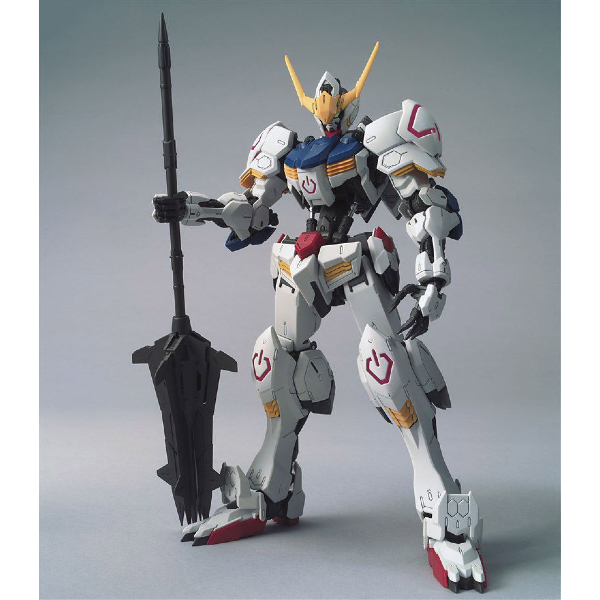 Bandai 1/100 MG Barbatos 4th Form front on view.