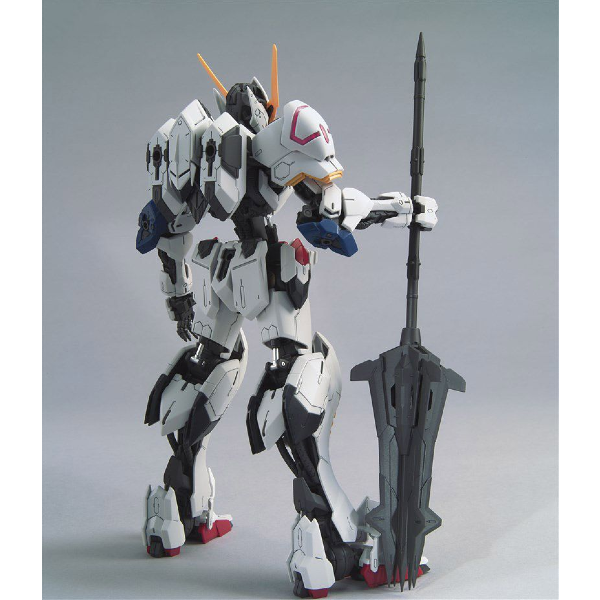 Bandai 1/100 MG Barbatos 4th Form rear view.