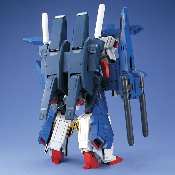 Bandai 1/100 MG FA-010S Full Armour ZZ Gundam rear view