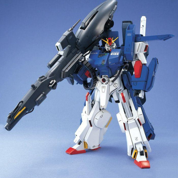 Bandai 1/100 MG FA-010S Full Armour ZZ Gundam with mega launcher