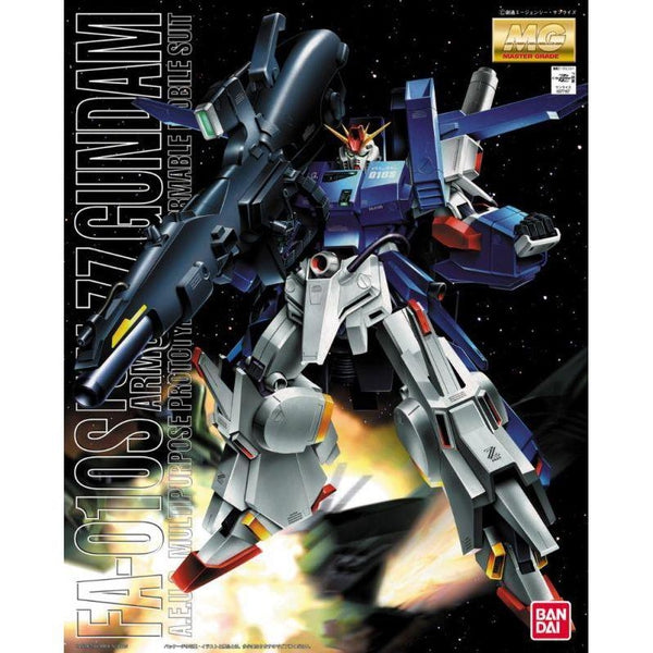 Bandai 1/100 MG FA-010S Full Armour ZZ Gundam package art