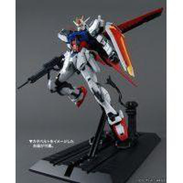 Bandai 1/100 MG Aile Strike Gundam Ver.RM Side Pose 3