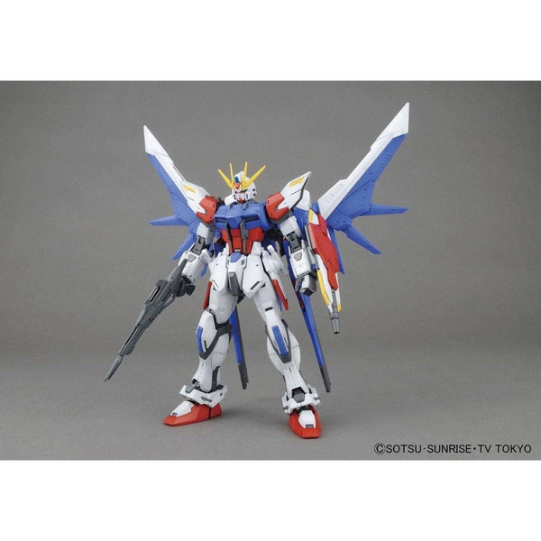Bandai 1/100 MG GAT-X105B/FB Build Strike Gundam Full Package front on pose