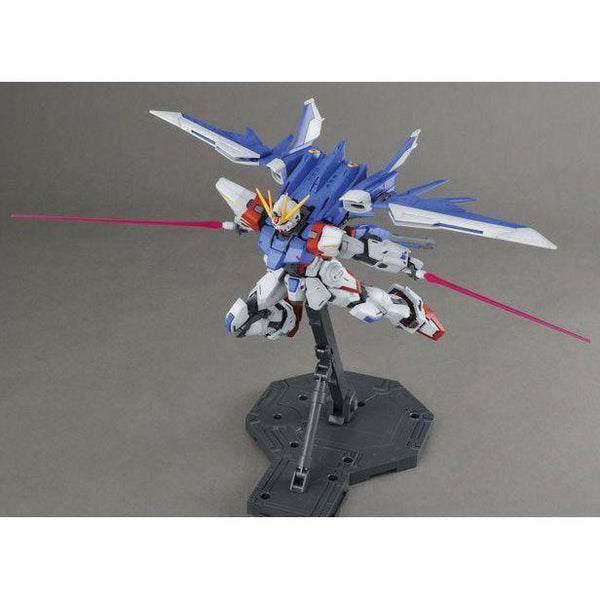 Bandai 1/100 MG GAT-X105B/FB Build Strike Gundam Full Package with build booster attached