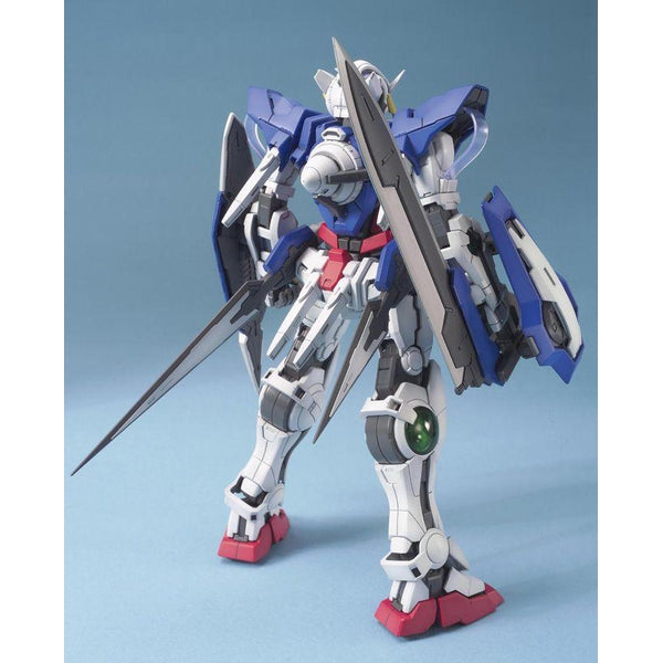 Bandai 1/100 MG Gundam Exia-Celestial Being Mobile Suit  rear view.