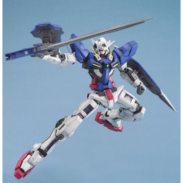 Bandai 1/100 MG Gundam Exia-Celestial Being Mobile Suit  action pose 1