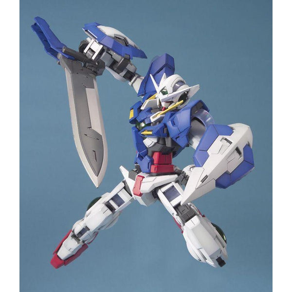 Bandai 1/100 MG Gundam Exia-Celestial Being Mobile Suit  action pose 2