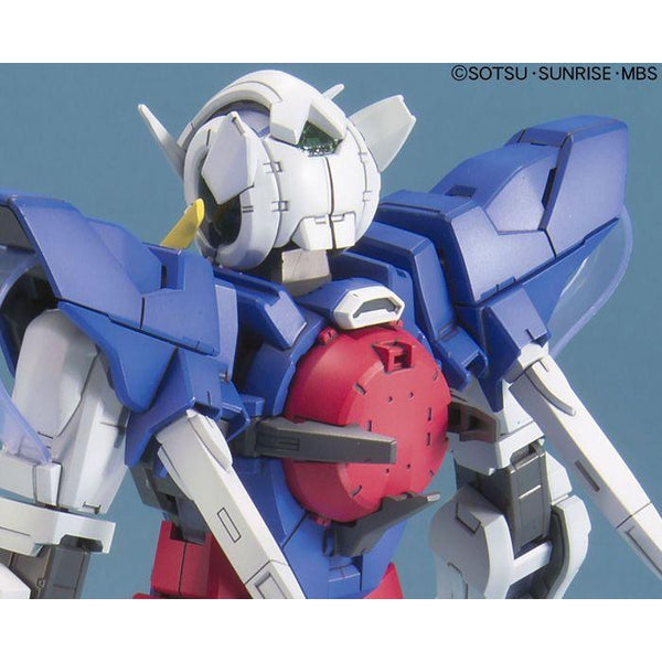 Bandai 1/100 MG Gundam Exia-Celestial Being Mobile Suit close up rear shoulders