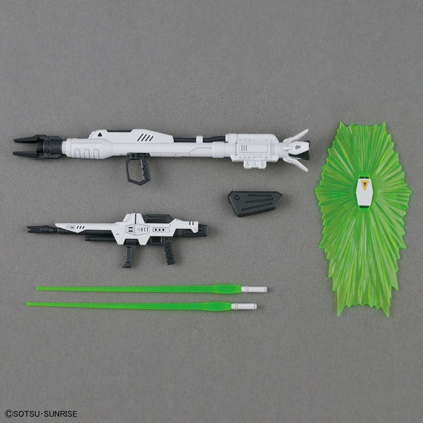 Bandai 1/100 MG Gundam F91 Ver 2.0 included accessories