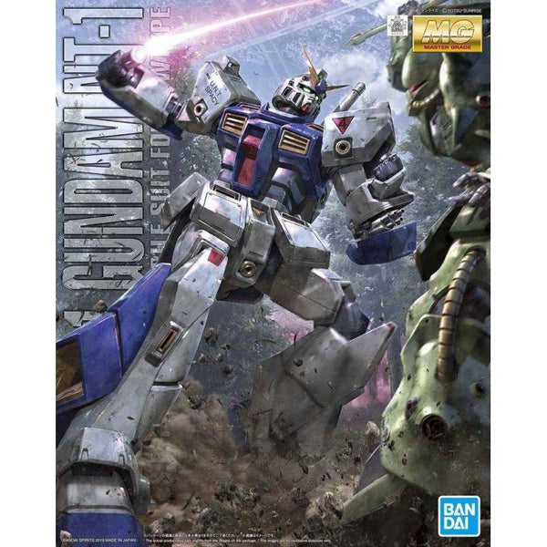 Bandai 1/100 MG RX-78 NT-1 Gundam NT-1 Alex Ver 2.0 package art