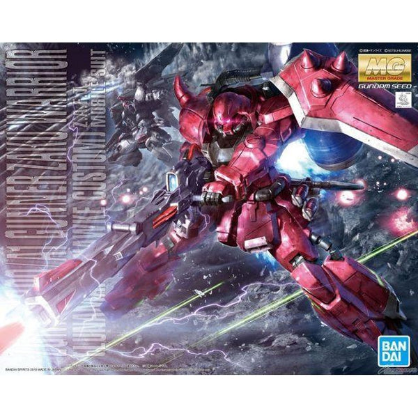 Bandai 1/100 MG Gunner Zaku Warrior (Lunamaria Hawke Custom) package art