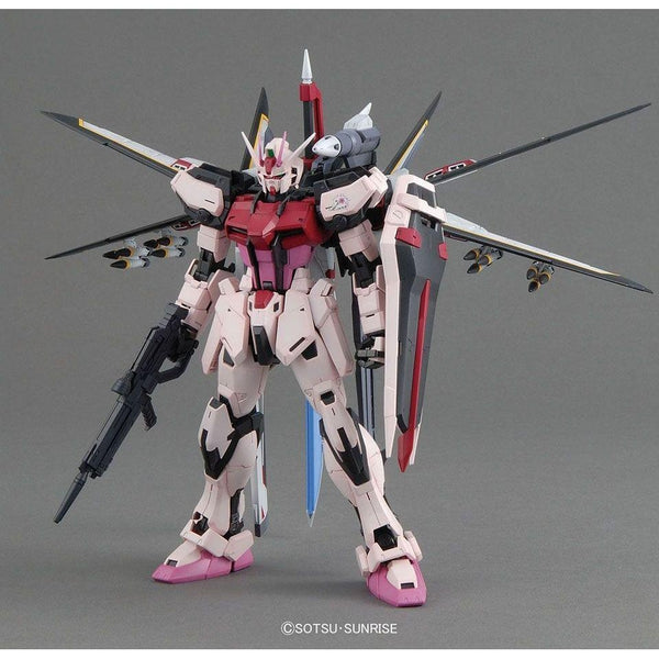 Bandai 1/100 MG MBF-02 Strike Rouge Ootori Unit Ver.RM front on pose